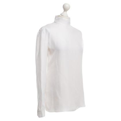 Prada Zijden blouse in het wit