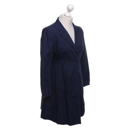 Miu Miu Katoenen jas in blauw