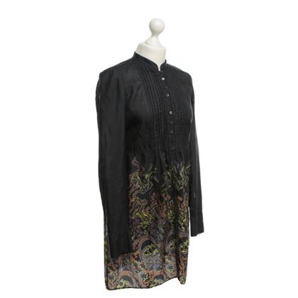 Strenesse Blue Printed silk dress