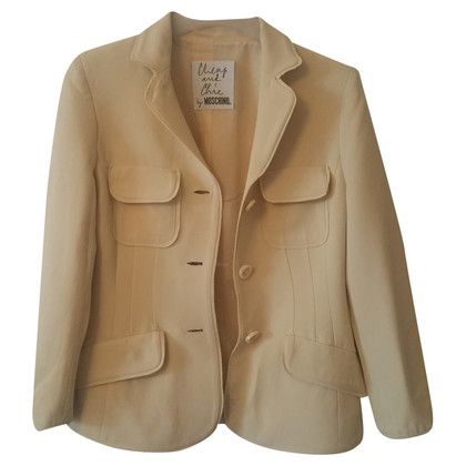 Moschino Cheap and Chic Blazer in vaniglia