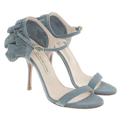 L'autre Chose pumps from suede