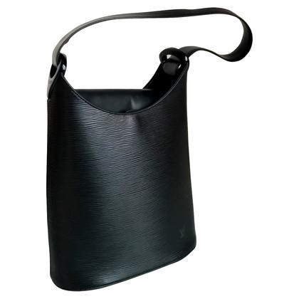 Louis Vuitton Schwarze Handtasche aus Epileder
