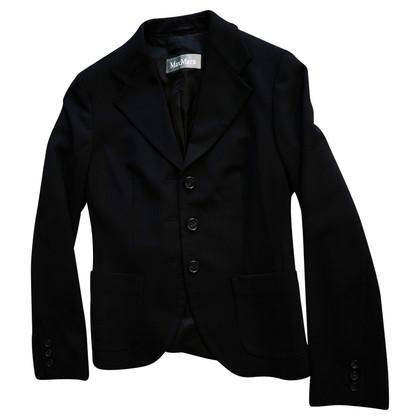 Max Mara Anzug-Blazer in Wolle