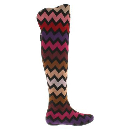 Missoni Overknees Multicolor