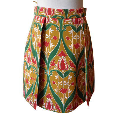 Prada skirt with floral pattern