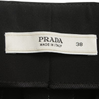 Prada trousers in black