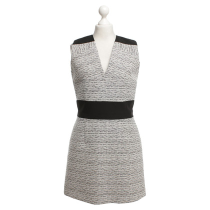 Carven Dress in black / white