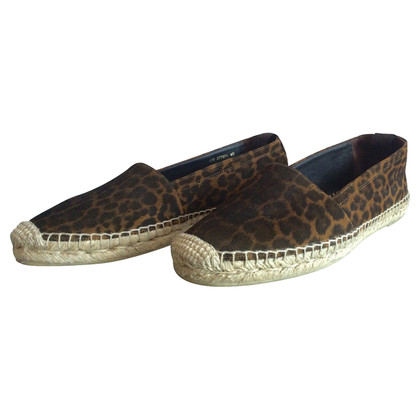 Saint Laurent pelle espadrillas