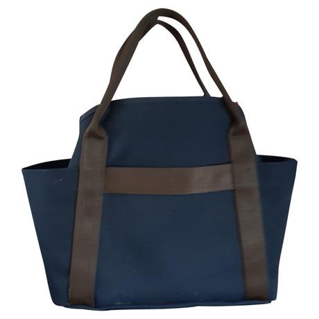 Rabatt Wahl Freies Verschiffen Heißen Verkauf Hermès Shopper Blau ByKlpjr