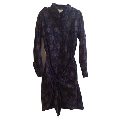 Isabel Marant Etoile Blouse dress with a floral pattern