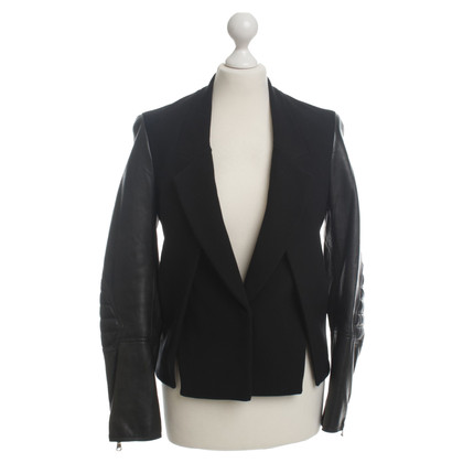 3.1 Phillip Lim Blazer with leather sleeves