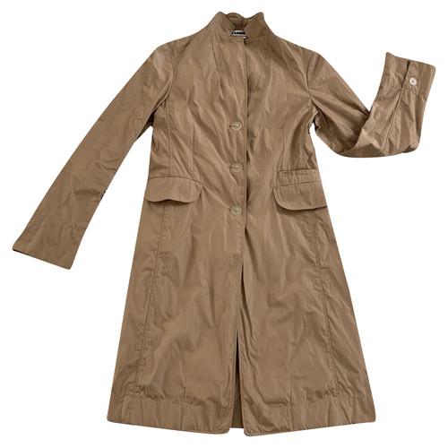 size 40 cf972 53278 Jil Sander Jacket/Coat Cotton in Beige - Second Hand Jil ...