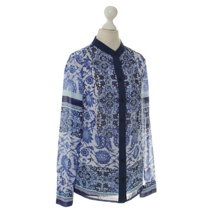 Michael Kors Blue blouse with print