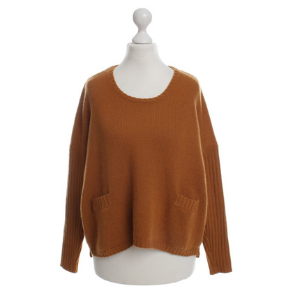 Allude Sweater in Orange