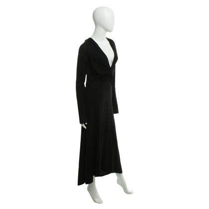 DKNY Lange jurk in zwart