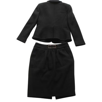 Céline Costume jacket skirt blazer 2 pieces black