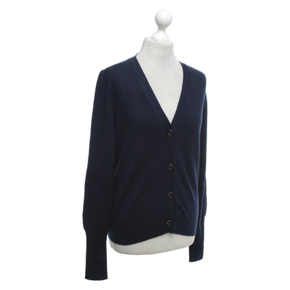 Jil Sander Cardigan in navy blue
