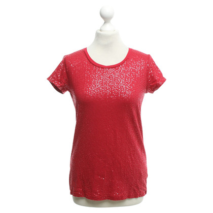 DKNY T-shirt with sequin trim