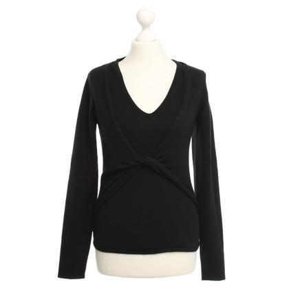 Allude Sweater in Black