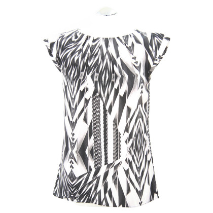 Ted Baker Silk top with pattern