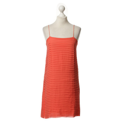 Joseph Silk dress in coral