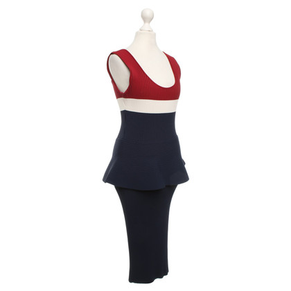 Sport Max Ribbed dress in multicolor