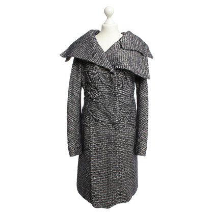 Jil Sander Wool coat with pattern