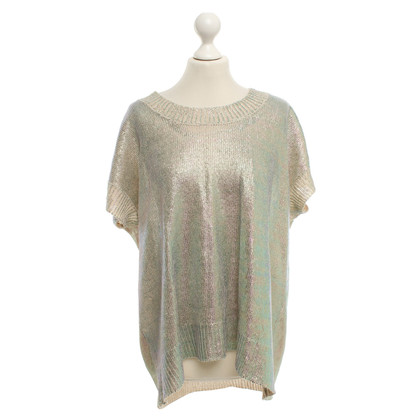 Stefanel Knit-top in Metallic