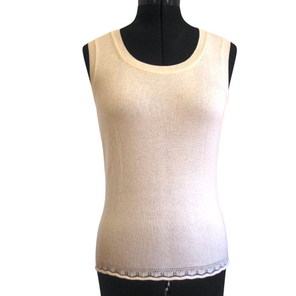 Escada Tank top in cream