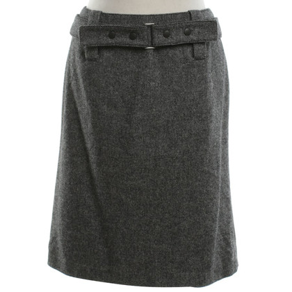 Strenesse Tweed-skirt in black and white