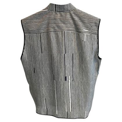 Carven Sleeveless silk top