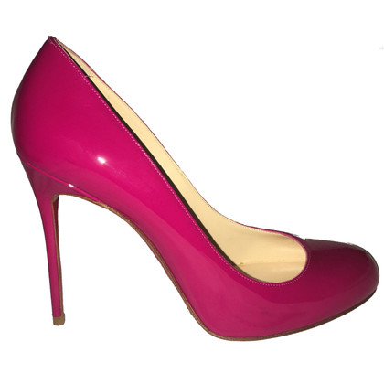 Christian Louboutin Lackleder-Pumps in Pink