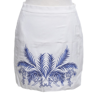 Sandro skirt with embroidery