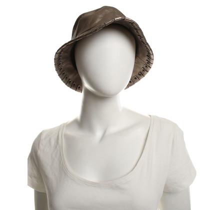 Burberry Cappello realizzato in pelle
