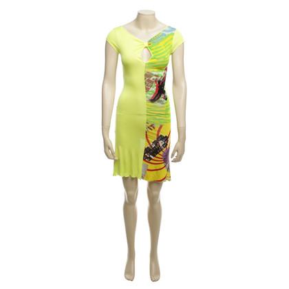 Versace Mini-Kleid mit Print