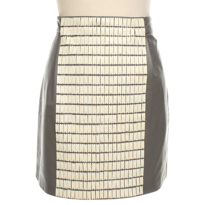 Other Designer Lecoanet Hemant - Leather skirt in grey