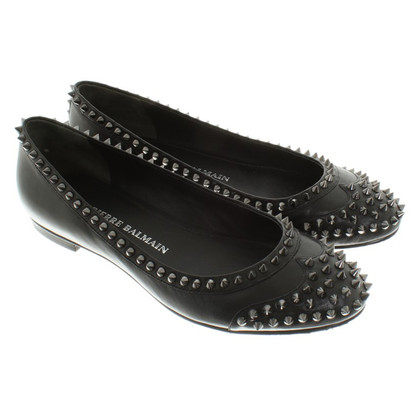 Pierre Balmain Ballerina's in zwart