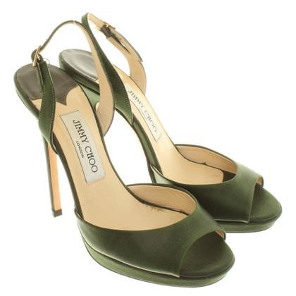 Jimmy Choo Sandales en vert