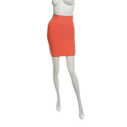 BCBG Max Azria Salmon-colored skirt