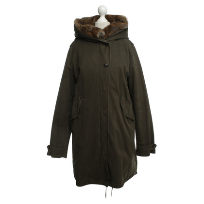 Woolrich Parka in olive green
