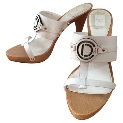 Christian Dior Plateau sandalen