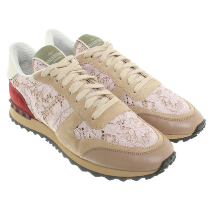 Valentino Sneakers made of material mix