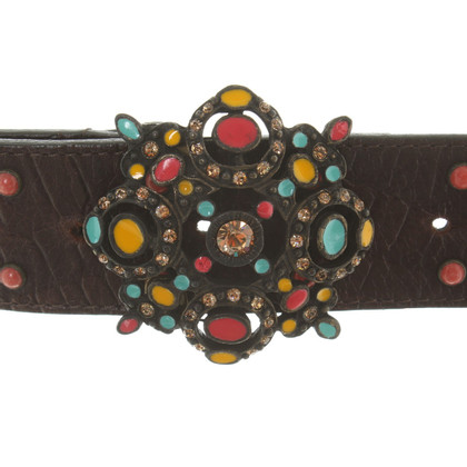 Blumarine Belt in dark brown