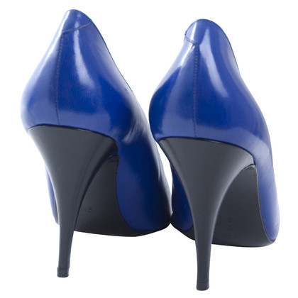 René Caovilla pumps in blue/black