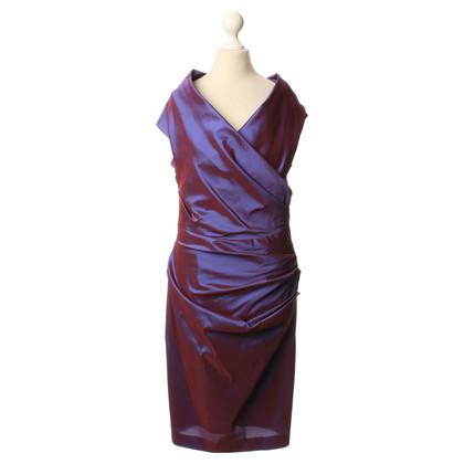 Talbot Runhof Kleid in Violett
