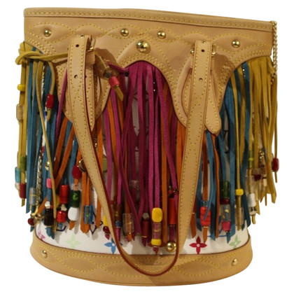 "Louis Vuitton ""Fringe secchio Bag Monogram Multicolore Canvas"""