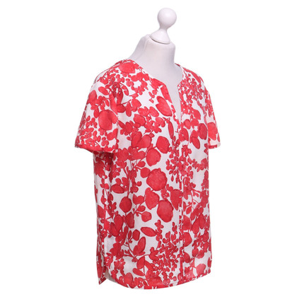Tory Burch Blusa in rosso / bianco