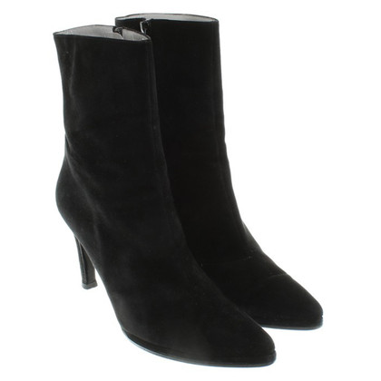Jourdan Suede ankle boots