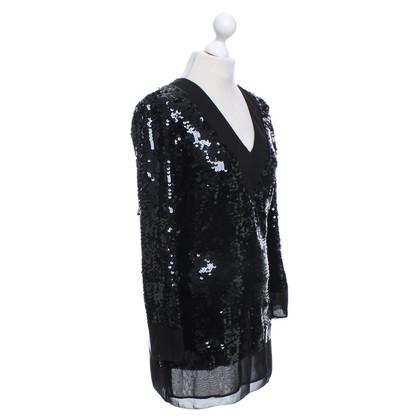 Karl Lagerfeld Lovertjekleding in zwart