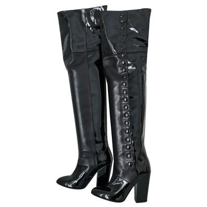 Chanel Overknee boots